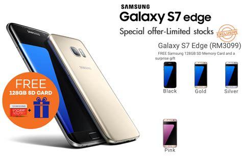 Harga Samsung S7 Edge Ram 4gb lazada malaysia buy samsung galaxy s7 edge get free 128gb