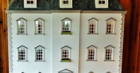 doll houses com stunning large 1 12 scale handmade georgian dolls house mansion quot felsham manor quot doll