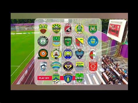 daftar klub liga  indonesia  seri  pssi asprov