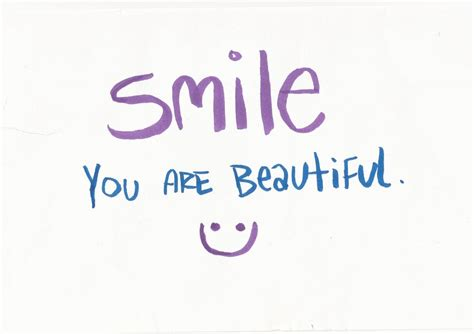 You Are Beautiful by Smile You Are Beautiful By Kyleb120 On Deviantart