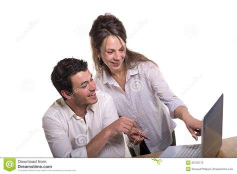 The Office Couples by In The Office Stock Photo Image 39732775