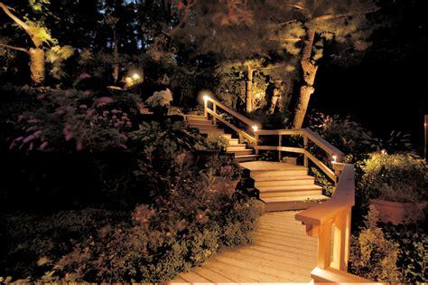 Outdoor Lighting With Wilmington Deck And Patio Lighting Landscape Deck Lighting