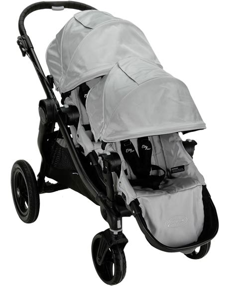 city select double stroller recline baby jogger city select 2013 stroller with second seat kit