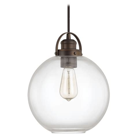 Globe Pendant Lighting Capital Lighting Burnished Bronze Pendant Light With Globe Shade 4641bb 136 Destination Lighting