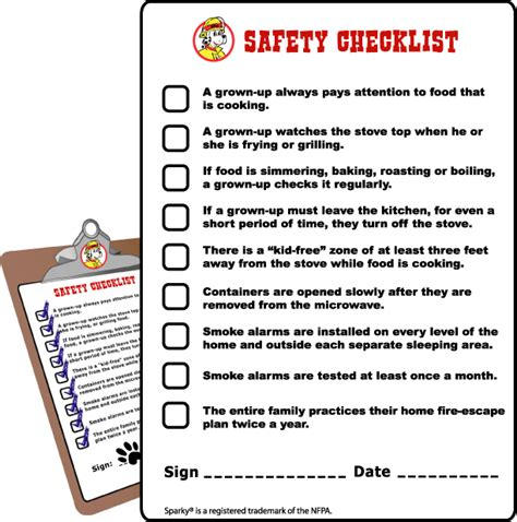 Safety Tips In Kitchen by Safety Checklist Baby Safe Homes Child Safety Safety