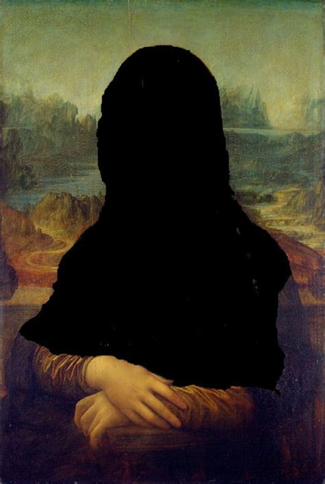 Beautiful Gamis Monalisa the landscapes in mona and other celebrated paintings