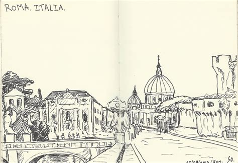 sketchbook rome st s basilica sketches of roma