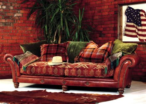 leather and tapestry sofa leather and fabric sofa savings