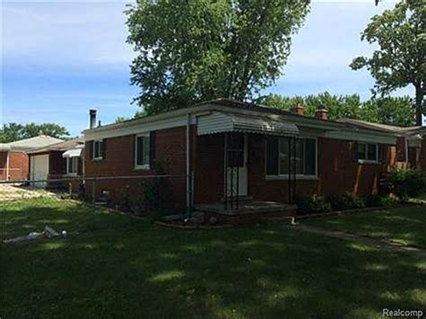 houses for sale in madison heights mi 1109 cynthia ave madison heights mi 48071 foreclosed home information reo