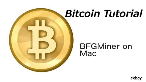 bitcoin setup mac bfgminer on mac setup guide for bitcoin users asic miner