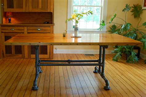 Pipe Dining Table Wood Working Supply List And Diy Table On