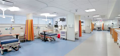 company of emergency room emergency department expansion interior renovations project wm blanchard nj construction