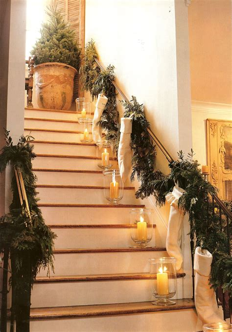 exceptional Christmas Decorations For Stair Rail #4: c04753eef49a07b02eff7bbfebe8ad46.jpg