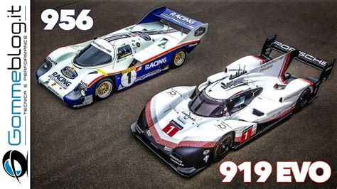 Porsche 956 Sketches Of Performance by Porsche 919 Evo Vs 956 Explained Performance Onboard