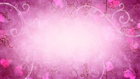 Premium Quality Luxurious Wallpaper 5 38 Pr Motif Bungashabby growing floral frame and glitter animation pink color stock footage 20757967