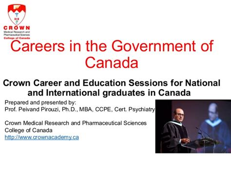 Government Of Canada Mba my by seneca college of applied arts and technology
