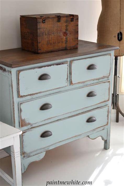 Coastal Dressers by Paint Me White Coastal Blue Dresser Diy Someday