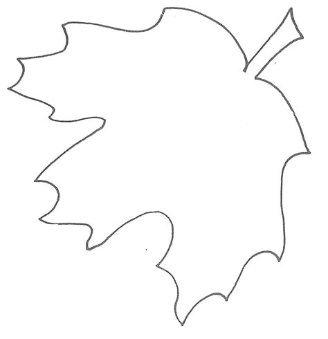 Leaf Template by Glenda S World Leaf Templates
