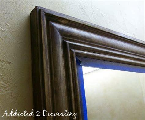 framed mirror from buildersgrade plate glass mirror