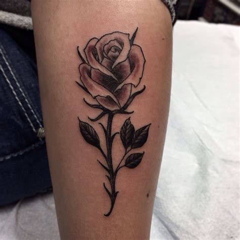 single rose tattoo designs single roses single