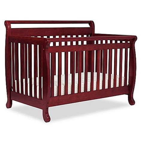 Davinci Emily 4 In 1 Convertible Crib In Cherry Bed Bath Davinci Emily Convertible Crib