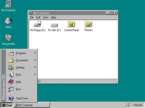 arri鑽e plan bureau windows windows 95 wikipedija