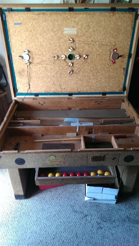 bumper pool table parts coin operated bumper pool table what do i