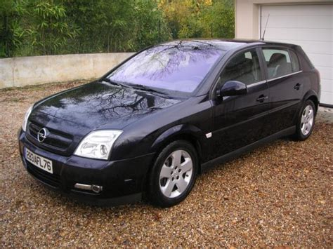 opel signum v6 cdti photos and comments www picautos