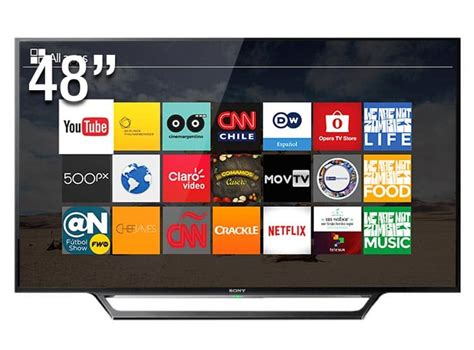 Tv Led Digital Sony smart tv led 48 sony hd kdl 48w655d conversor digital wi fi 2 hdmi 2 usb dlna bivolt