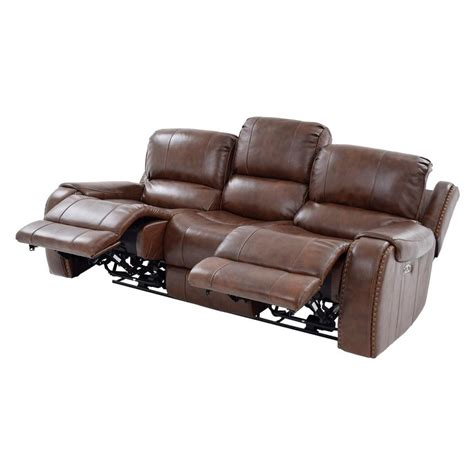 power motion sofa leather durham power motion leather sofa el dorado furniture