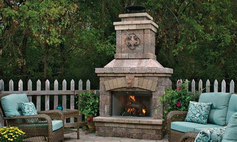 belgard outdoor fireplace kits pieces per kit total weight