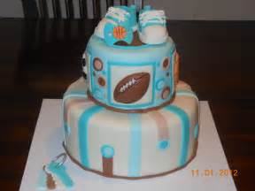 baby shower cakes boys it s a of cake sports baby boy shower cake