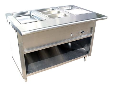 kitchen steam table evoo ecws 48 gas steam table 48 quot