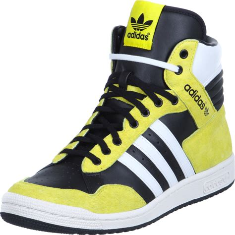 Adidas Ultron Black Yellow adidas originals pro conference sneakers hoog black
