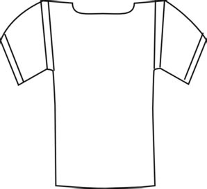 nfl jersey coloring pages template football jersey clipart best