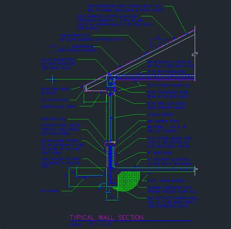window section cad block wall section 8 quot cmu at window cad files dwg files