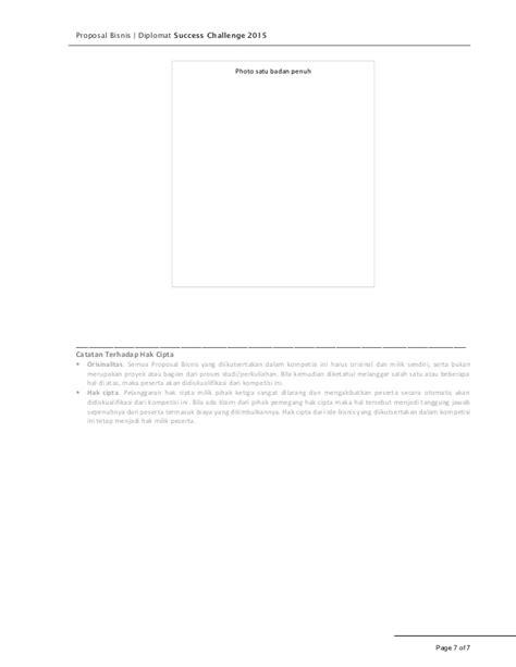 format proposal bisnis plan proposal bisnis dsc 2015 blank template