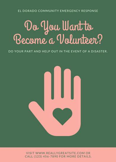 Volunteers Needed Flyer Template