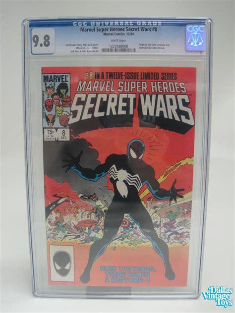 marvel super heroes secret wars rare 28844559 other 12 84 marvel comics marvel super heroes secret wars 8 cgc 9 8 white pages
