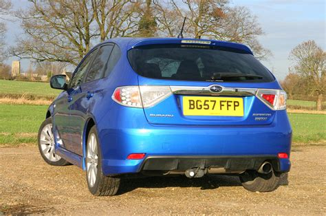 subaru chrome subaru impreza hatchback review 2007 2012 parkers