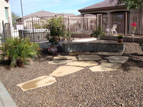 how to create desert landscape design front yard
