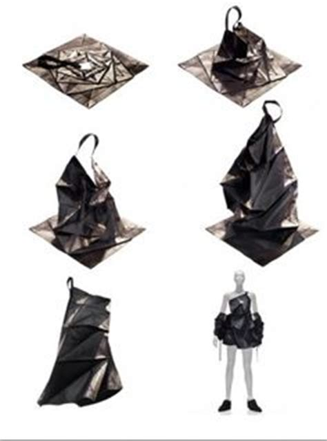 Issey Miyake Origami - 1000 images about origami fashion and on