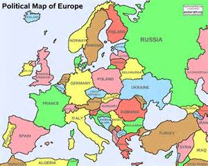 Europe Physical Map Quiz by Unit 1 Geography Of Europe 6th Grade Social Studies
