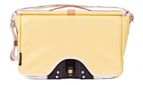 Brompton Flap Kit Yellow brompton luggage brompton shoulder bag yellow