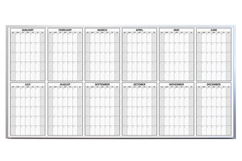 Magnetic Erase Calendar Magnetic 12 Month Erase Calendar