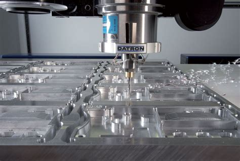 datron cnc milling    chips fly machine