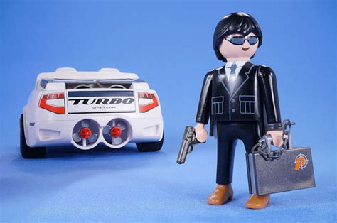 Playmobil Agenten Auto by Playmobil Top Agents Sports Spy Car Super Racer 4876 With