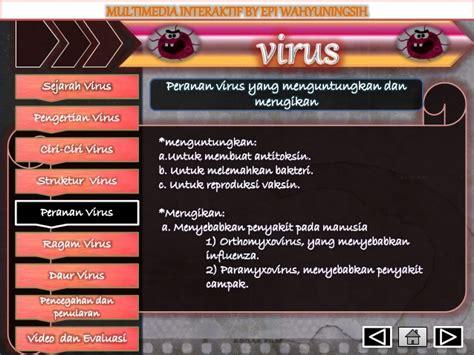 virus membuat antitoksin materi virus epi wahyuningsih