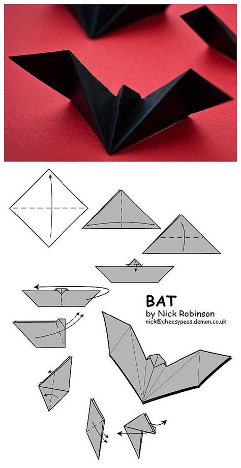 How To Make Paper Bats - 2008 best be ready for