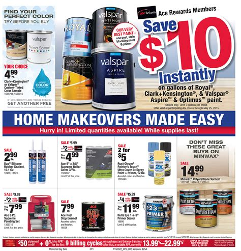 ace hardware email ace hardware memorial day sale the approved home pro show